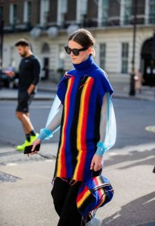 guest-is-seen-wearing-striped-multi-colored-slipover-news-photo-1568606662